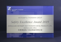 Heitkamp & Thumann Group - Safety Excellence Award 2019