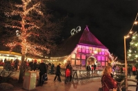 Winter-Zoo in Meyers Hof