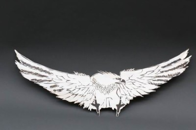Eagle, stainless steel